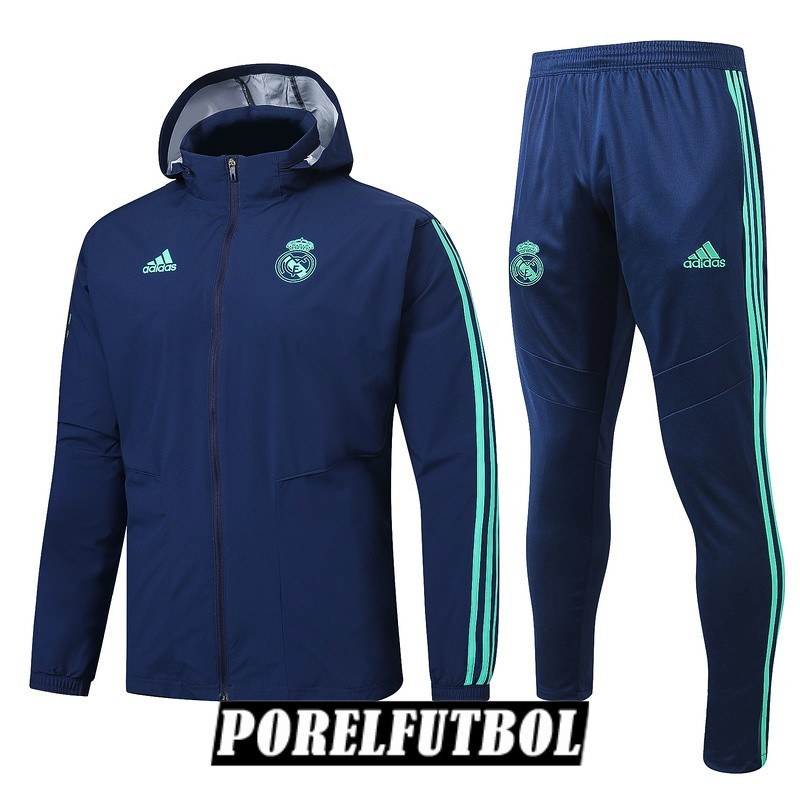 2019 20 rompevientos azul oscuro real madrid