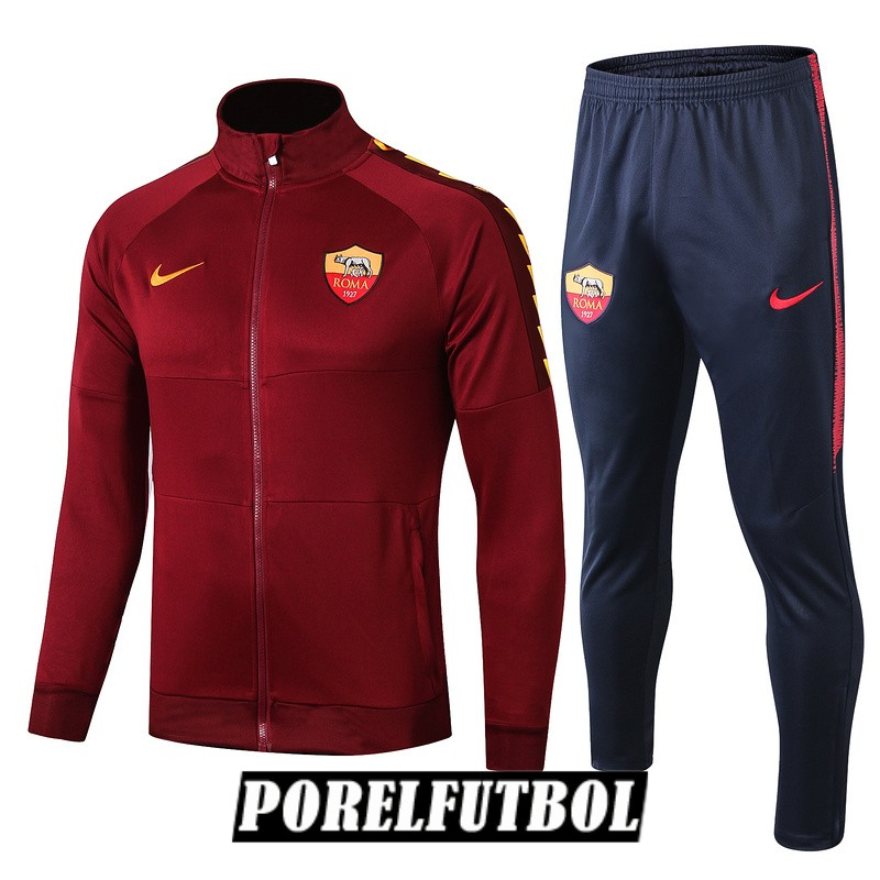 as roma chaqueta rojo 2019 20