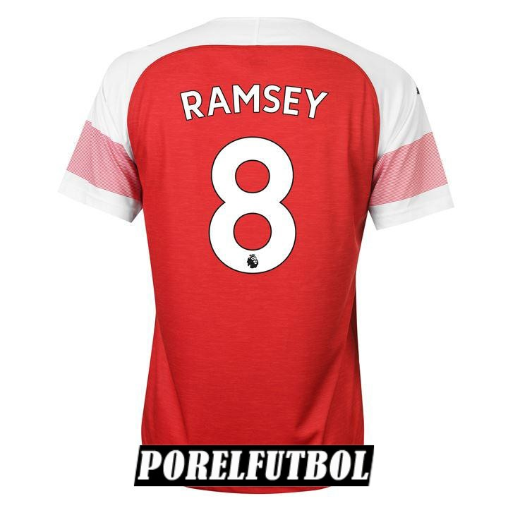 camiseta arsenal ramsey primera 2018 19
