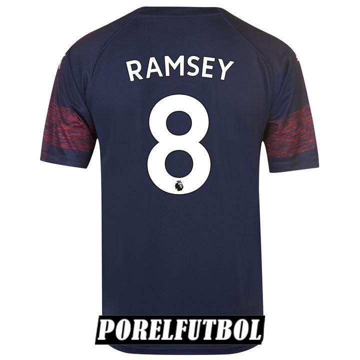 camiseta arsenal ramsey segunda 2018 19