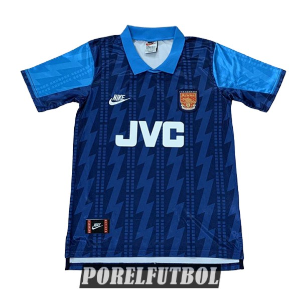 camiseta arsenal retro segunda 1994-1995