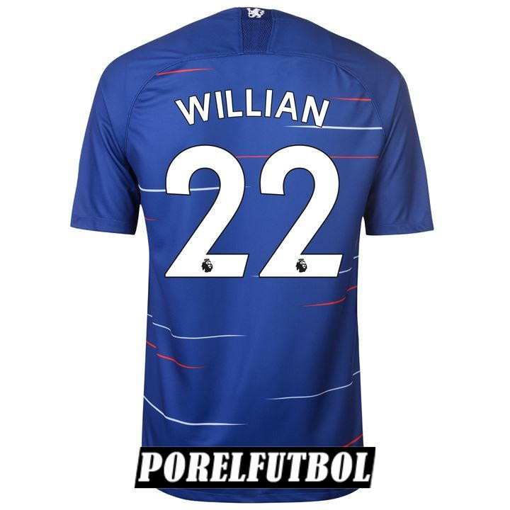 camiseta chelsea willian primera 2018 19