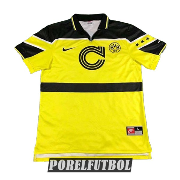 camiseta dortmund retro edicion champions league 1997