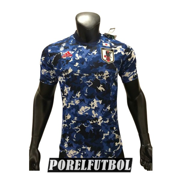camiseta japon primera version player 2020
