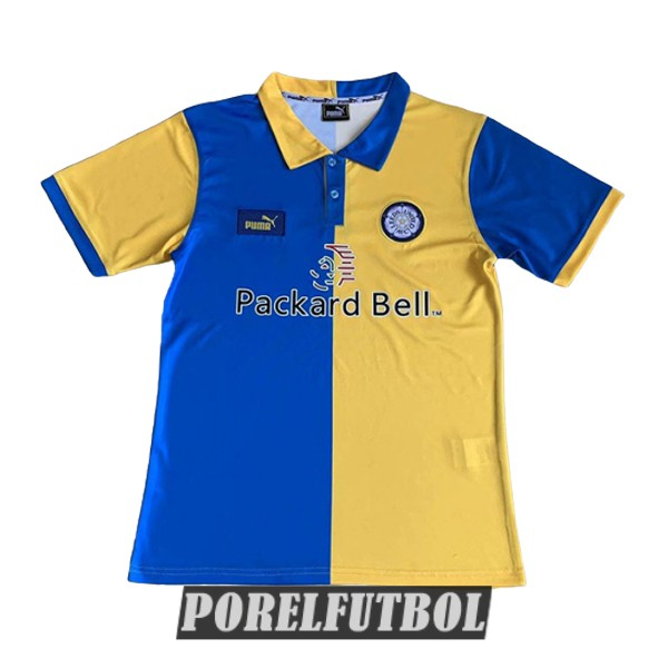 camiseta leeds united retro primera 1997-1999