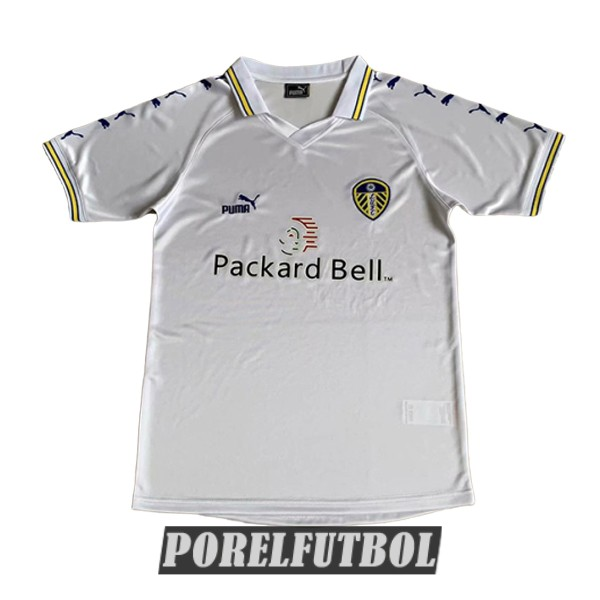 camiseta leeds united retro primera 1998-2000