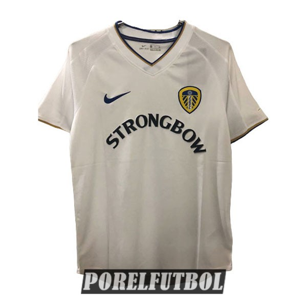 camiseta leeds united retro primera 2000-2002