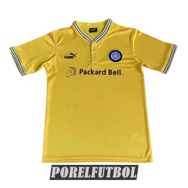 camiseta leeds united retro segunda 1996-1998