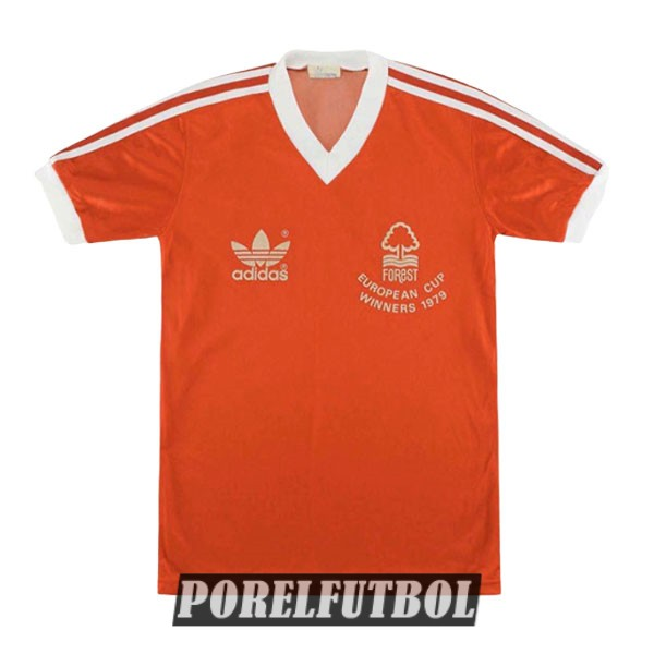 camiseta nottingham forest retro primera 1978-1979