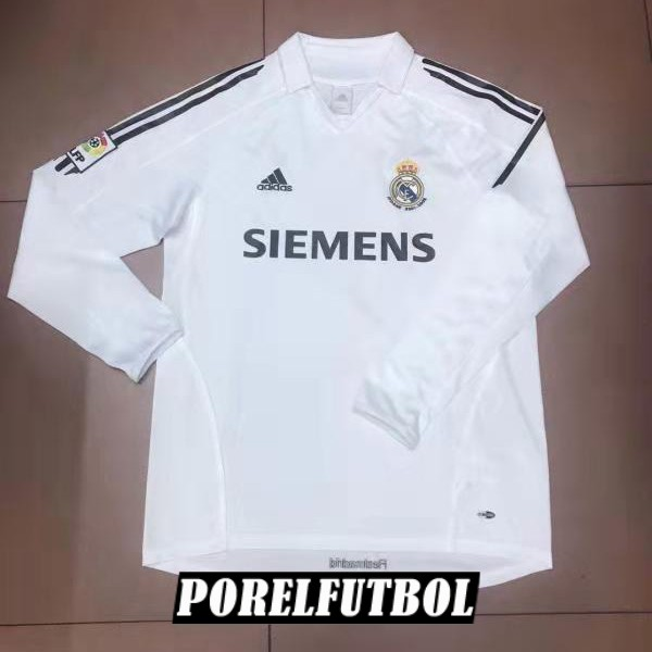 camiseta real madrid retro manga larga primera 2006 [camisetas-2018-10-29-29]