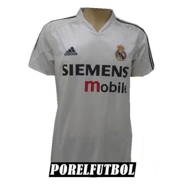 camiseta real madrid retro primera 2004