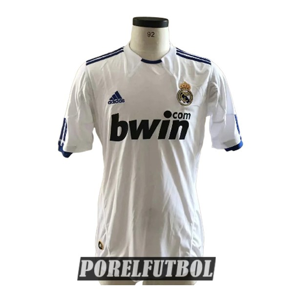 camiseta real madrid retro primera 2010-2011