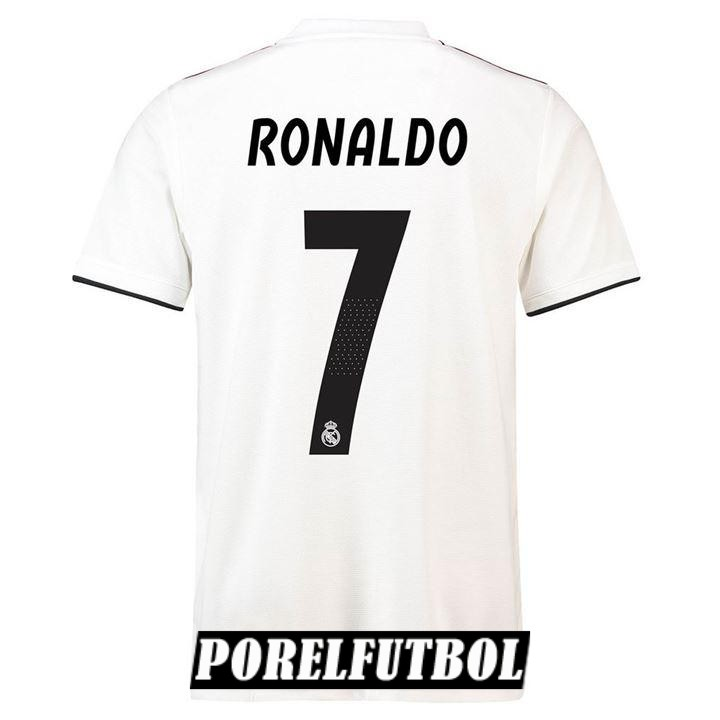 camiseta real madrid ronaldo primera 2018 19