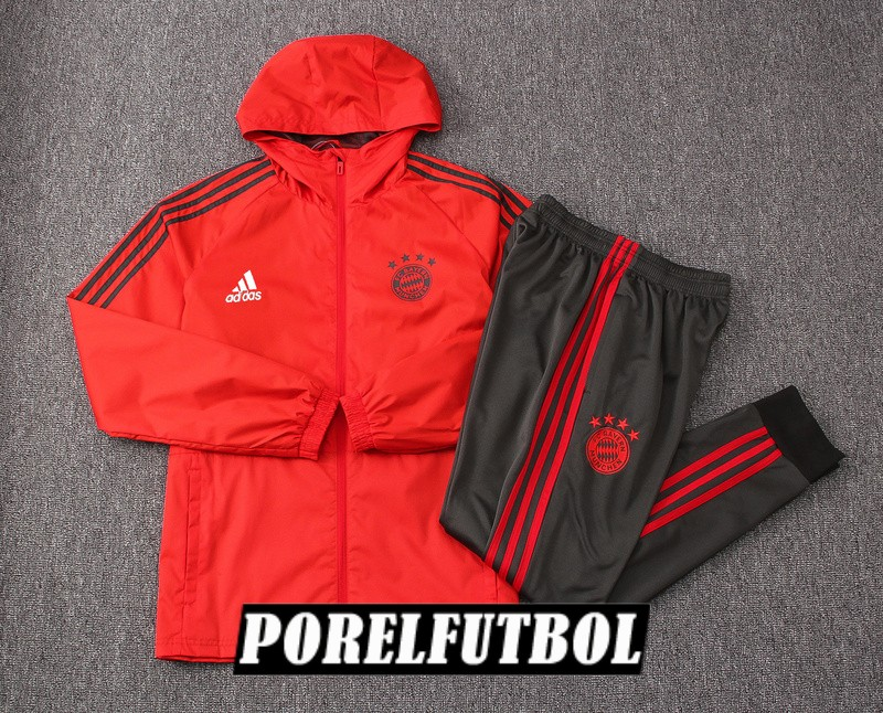 rompevientos bayern munich 2018 19 rojo<br /><span class=