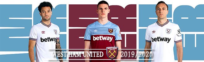 camiseta west ham united